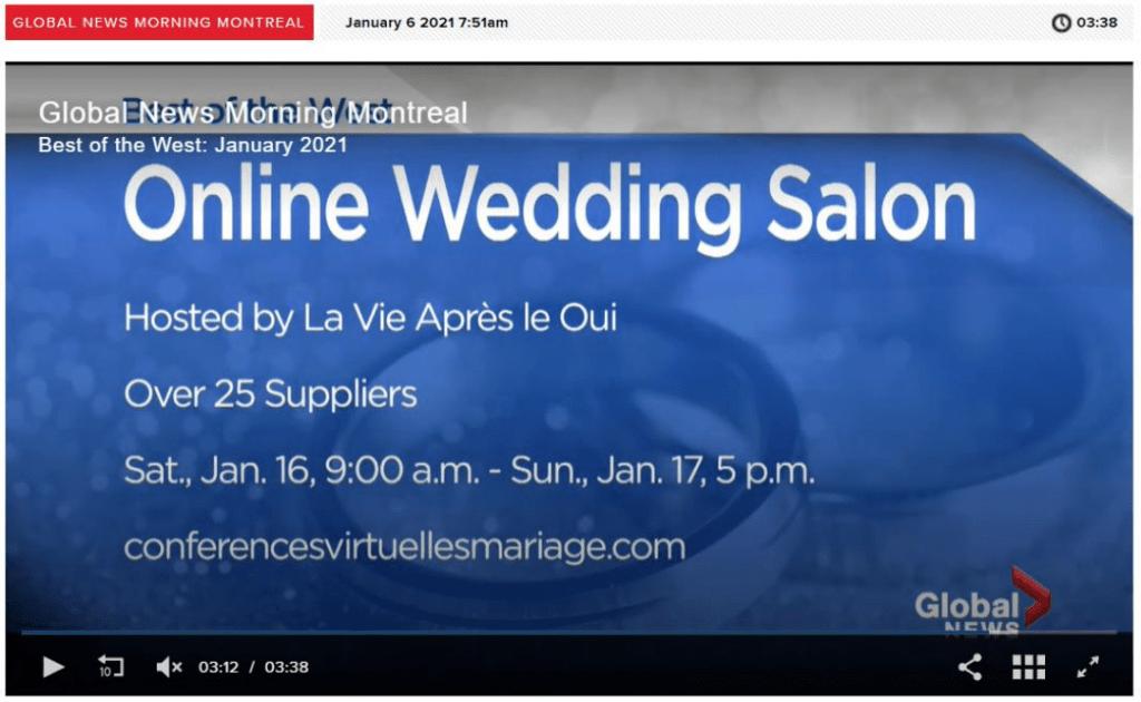 Salon virtuel de conférences sur le mariage
